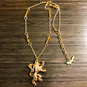 Game of Thrones - Lannister Necklace - Gold